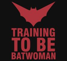 Training to be Batwoman by mashedelephants