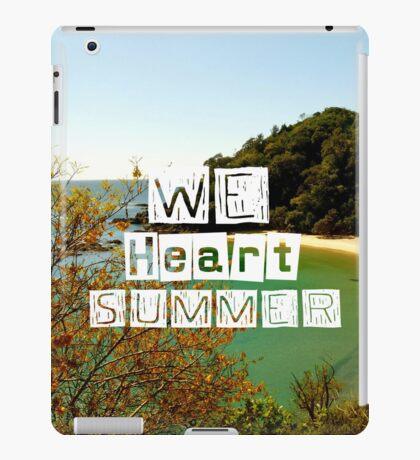WeHeartSummer - iPad Case iPad Case/Skin