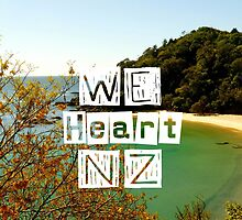 WeHeartNZ - iPad Case by haewee