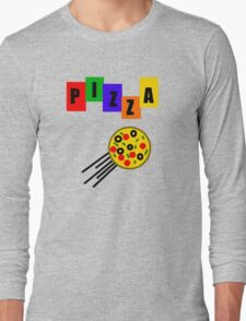 Who Ordered Pepperoni? Long Sleeve T-Shirt