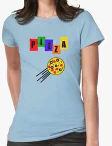Who Ordered Pepperoni? Womens Fitted T-Shirt