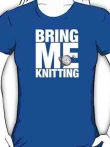 Bring Me Knitting (Eighth Doctor) T-Shirt