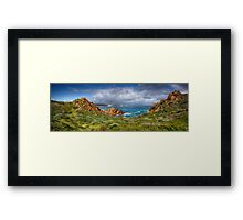 Wyadup Rocks Framed Print