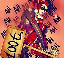 Harley Quinn (2) by KanaHyde