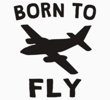 Born To Fly Kids Tee