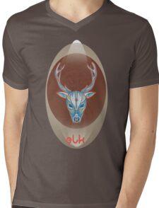 blue bull elk. Mens V-Neck T-Shirt
