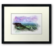 The Cloud, Congleton, Cheshire Framed Print
