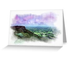 The Cloud, Congleton, Cheshire Greeting Card