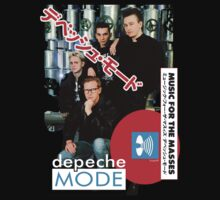 Depeche Mode Music For The Masses Japan Tour Tokyo 4-22-1988 by Shaina Karasik