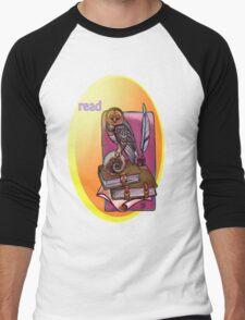 read. Men's Baseball ¾ T-Shirt