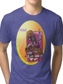 read. Tri-blend T-Shirt