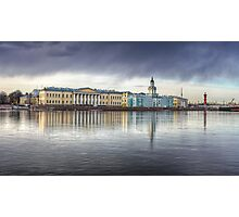 St Petersburg Museums across the Neva Photographic Print