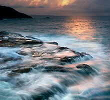 Scotts Head Sunset 2 by DonnaLB