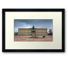 Royal Palace Oslo, Norway Framed Print