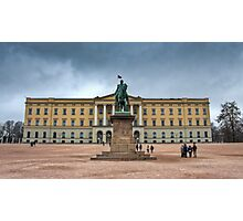 Royal Palace Oslo, Norway Photographic Print