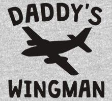 Daddy's Wingman One Piece - Long Sleeve