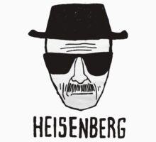 Heisenberg's face (with text) by powerlee