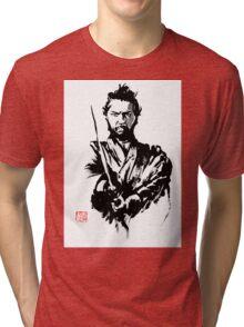tatsuya 2 Tri-blend T-Shirt