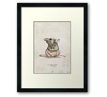 Real Life Mickey Mouse - Natural History Variant Framed Print