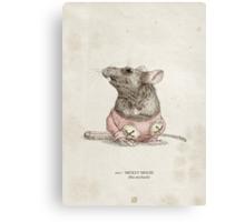 Real Life Mickey Mouse - Natural History Variant Canvas Print