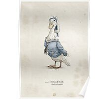Real Life Donald Duck - Natural History Variant Poster