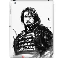 the last samurai iPad Case/Skin