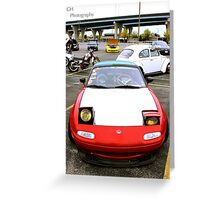 Go Home Miata Greeting Card