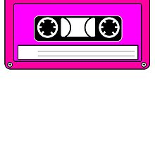Pink Cassette Tape by kwg2200