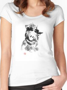 alf Women's Fitted Scoop T-Shirt