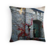The Coach Barn and Museum at Kykuit, Sleepy Hollow NY Throw Pillow