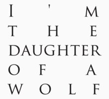 daughter of a wolf by sopheyrac