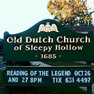 Old Dutch Reformed Church Sign, Sleepy Hollow NY by Jane Neill-Hancock