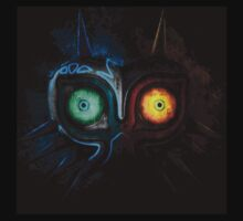 TLOZ: Majora's Mask Flaming ice (Black only) by TheBlueFlare