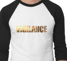 Vigilance Men's Baseball ¾ T-Shirt