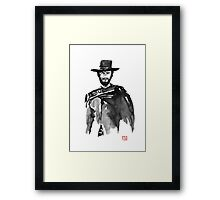 clint 2 Framed Print