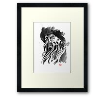 davy jones Framed Print