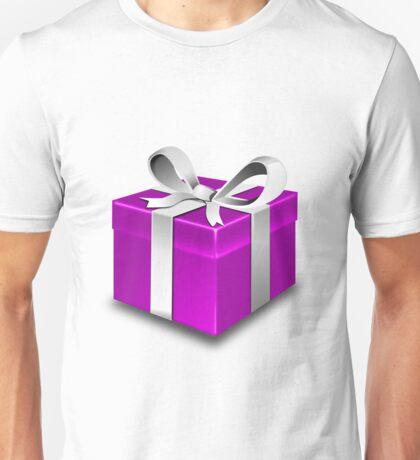 Purple Gift Box Unisex T-Shirt