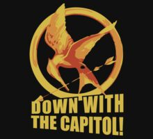 Down with the Capitol! - Hunger Games by Alessandro Ionni