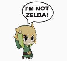 I'm Not Zelda Kids Tee