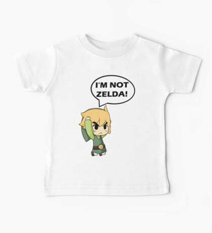 I'm Not Zelda Baby Tee