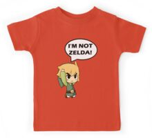 I'm Not Zelda Kids Tee