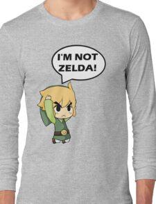 I'm Not Zelda Long Sleeve T-Shirt