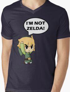 I'm Not Zelda Mens V-Neck T-Shirt