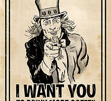 Uncle Coffee Wants You! by AltGrounds