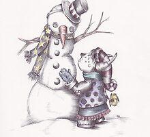 Snowman by Heather Munro