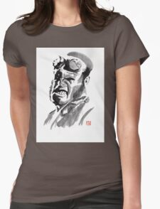 hellboy Womens Fitted T-Shirt