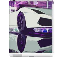 Lamborghini Gallardo illustration iPad Case/Skin
