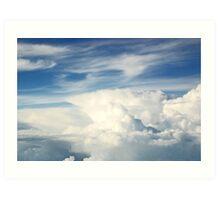 Anvil Cloud Art Print