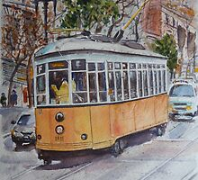 SF Historic Streetcars by jadlart