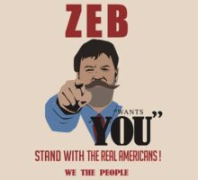 Zeb Wants You !  by Bucky Sentry